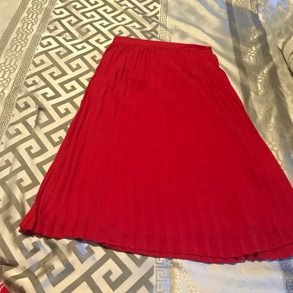 deb2823f3 a new day Skirts | Red Skirt | Poshmark